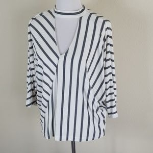 Anthropologie Tops - Anthro Sunday in Brooklyn Striped Dolman Top
